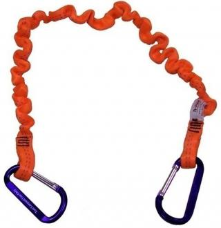 Stronghold by Ty-Flot Bungee Tool Tether with Aluminum Carabiners