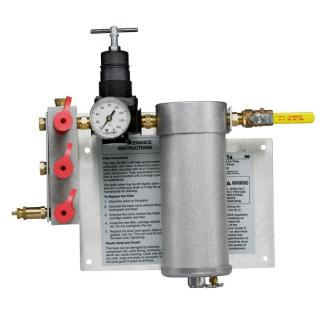 W-2806 3M™ Compressed Air Filter and Regulator Panel