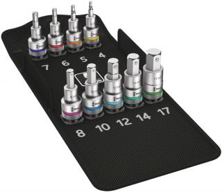 Wera Tools 8740 C HF 1 Zyklop Bit Socket Set with 1/2 Inch Drive, with Holding Function