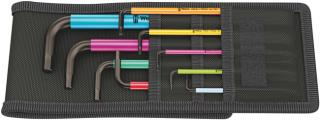 Wera Tools 950/9 Hex-Plus Multicolour 1 SB Multicolour L-key set, metric, BlackLaser