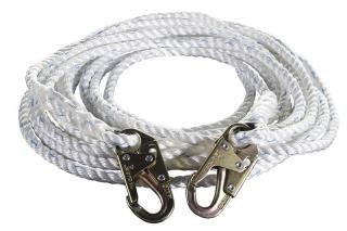WestFall Pro 3-Strand Composite Vertical Lifeline with Snap Hook Ends
