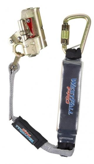 WestFall Pro 5/8 Inch Trailing Rope Grab with Lanyard and Carabiner
