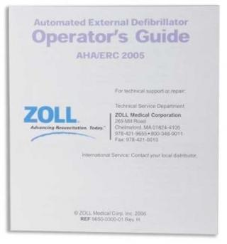 Zoll AED Guides