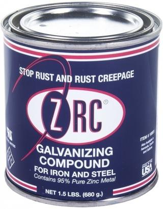 ZRC Cold Galvanizing High Zinc Compound - 1/2 Pint