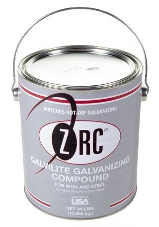 ZRC Galvilite Galvanizing Compound Shiny Finish - 1 Gallon