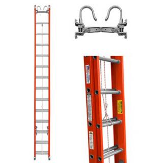 Sunset Ladder EasyLift 32 Foot Ladder Extension with Hooks & V-Rungs