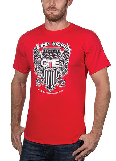 Red Climb Higher Shirt - GME Supply