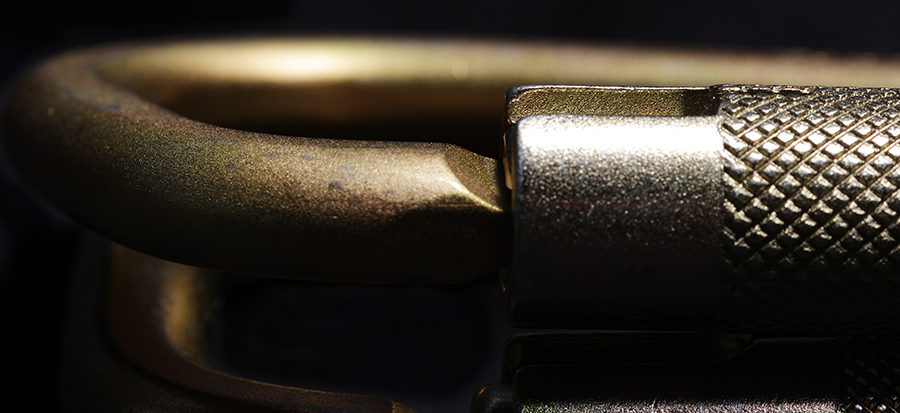 Carabiner Gate Closeup