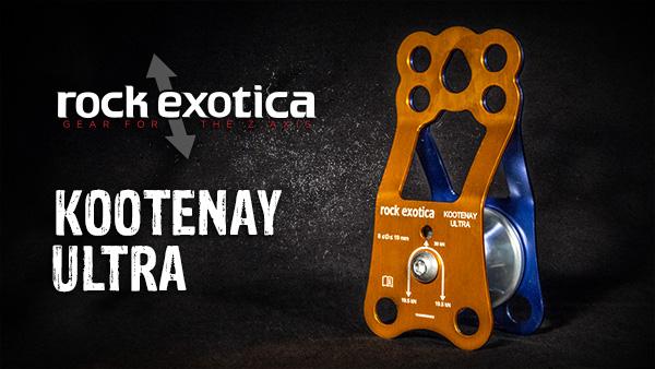 Rock Exotica P3 Kootenay Ultra Pulley - Rock Exotica