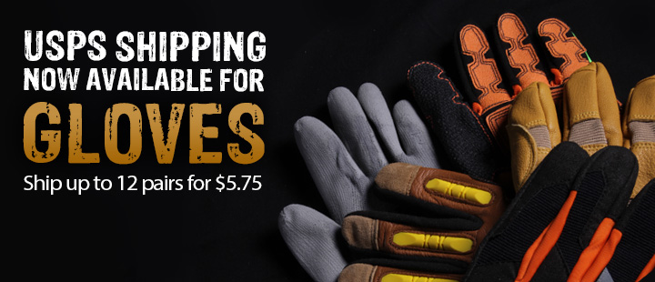 New Shipping Options for Gloves - GME Supply