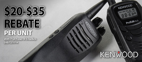 Kenwood Two Way Radio Rebates - GME Supply