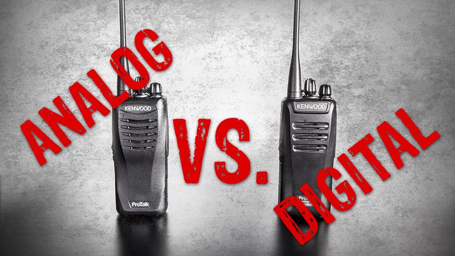 Analog vs Digital Two-Way Radios