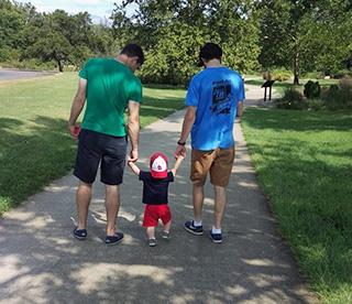Andrew Pracchia and nephew