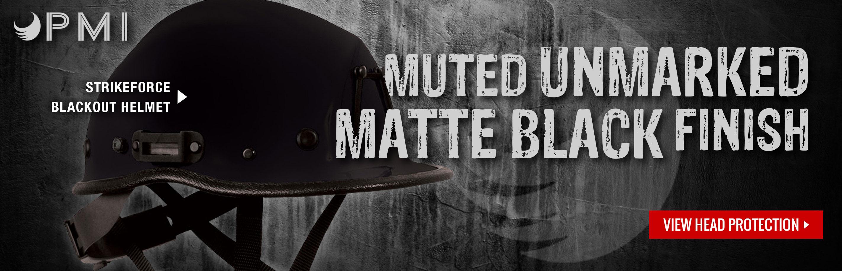 Strikeforce Blackout Helmet