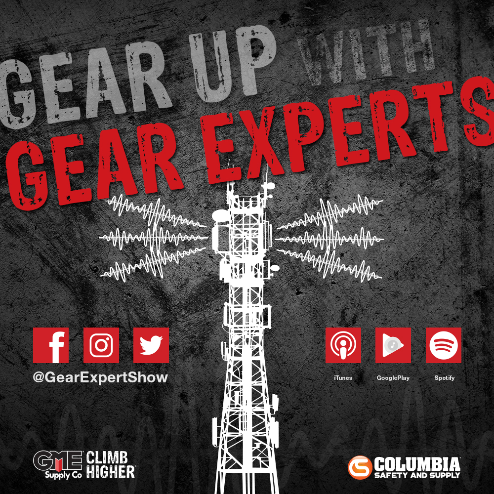 Introducing Gear Up with Gear Experts a podcast for at-height, industry, and construction.