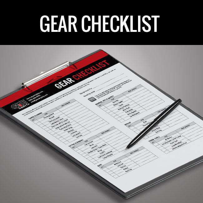 Tower Gear Checklist