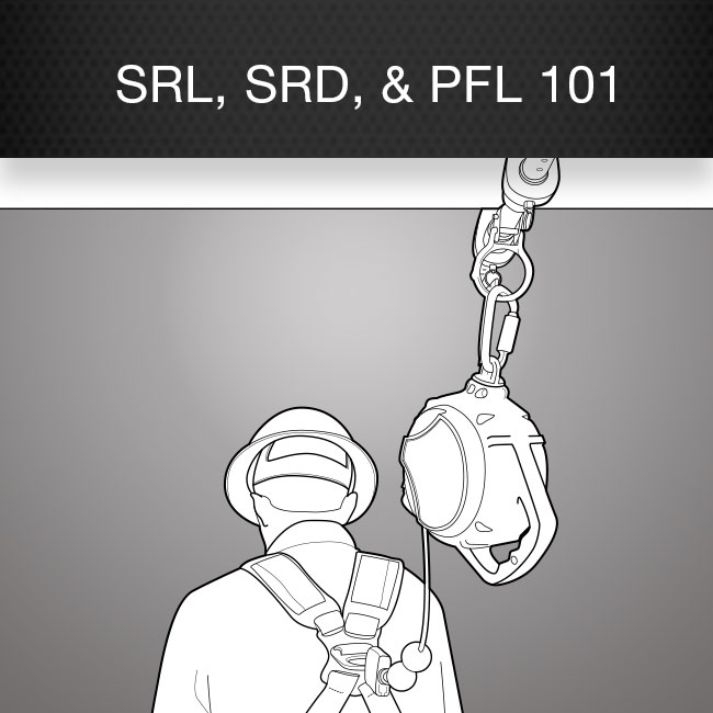 Self-Retracting Lifeline, Self-Retracting Devices, Personal Fall Limiters 101