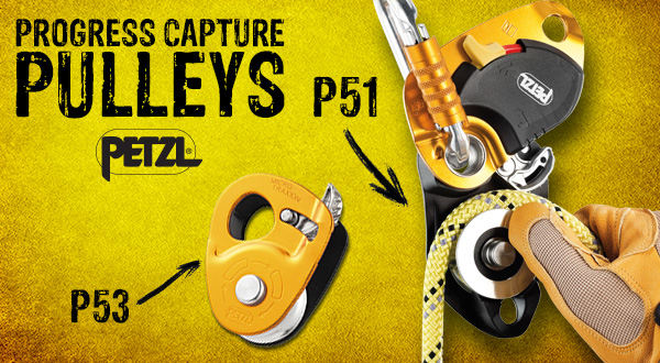 Petzl Traxion Pulleys - GME Supply