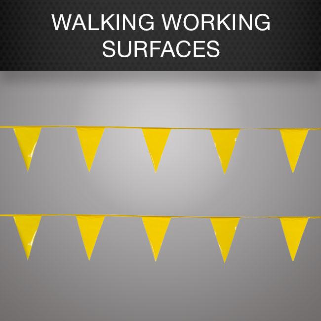 Walking Working Surfaces