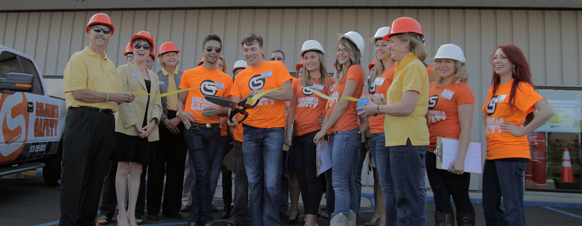 GME Supply's founder, Beau Aero, during the grand opening of our location