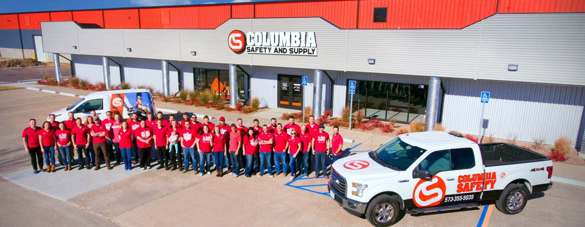 A picture of the GME Supply team at our corporate headquarters in Columbia, MO