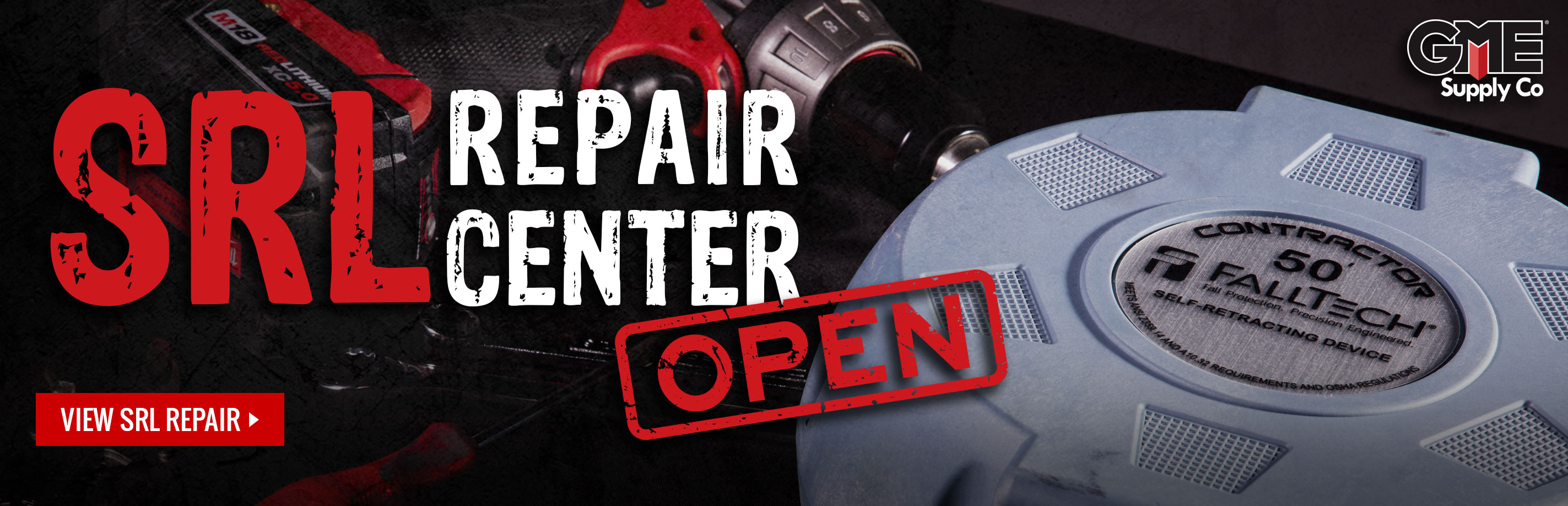 SRL and Bosch Tool Repair center GME Supply