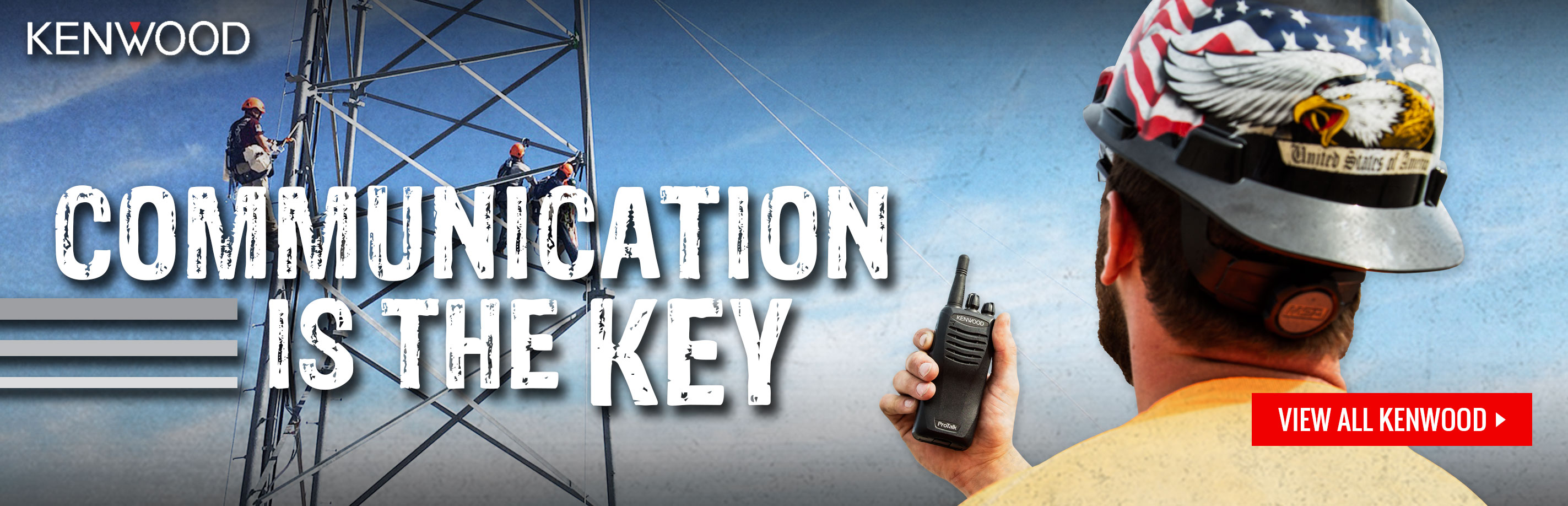 Digital and analog two way radios and radio accessories available at GME Supply - qualifying radios have rebates through September 30, 2020