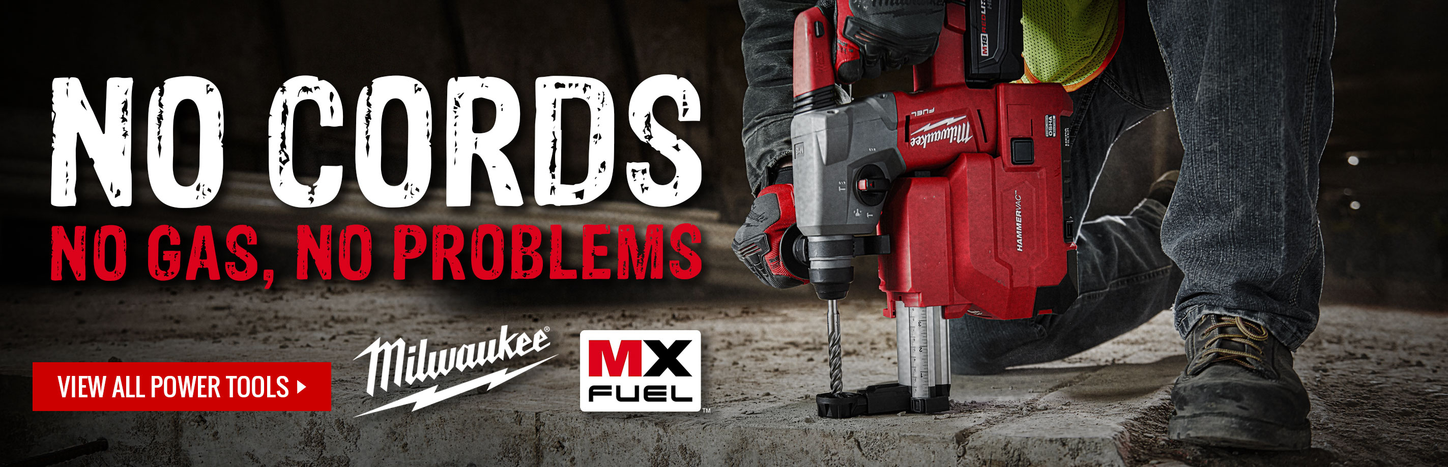 Find the all-new Milwaukee MX FUEL Power Tools at GME Supply
