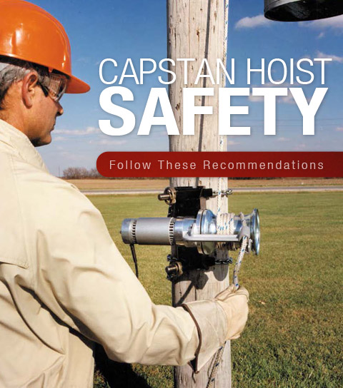 Capstan Hoist Safety