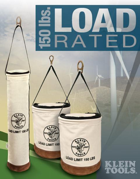 Klein Heavy-Duty Load Rated Lift Buckets