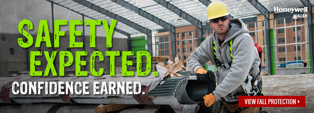 Fall protection equipment and gear from Miller Fall Protection (Honeywell) at GME Supply