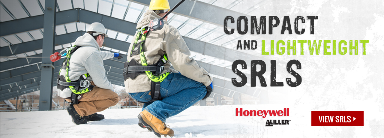 Self-retracting lifelines from Miller Fall Protection (Honeywell) at GME Supply