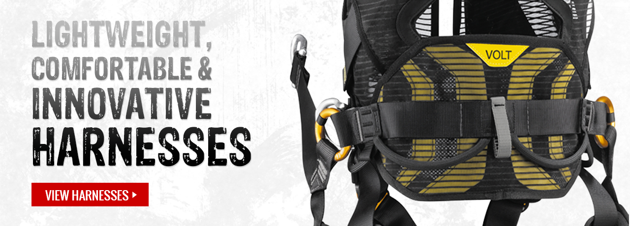 Fall protection harnesses from Petzl at GME Supply