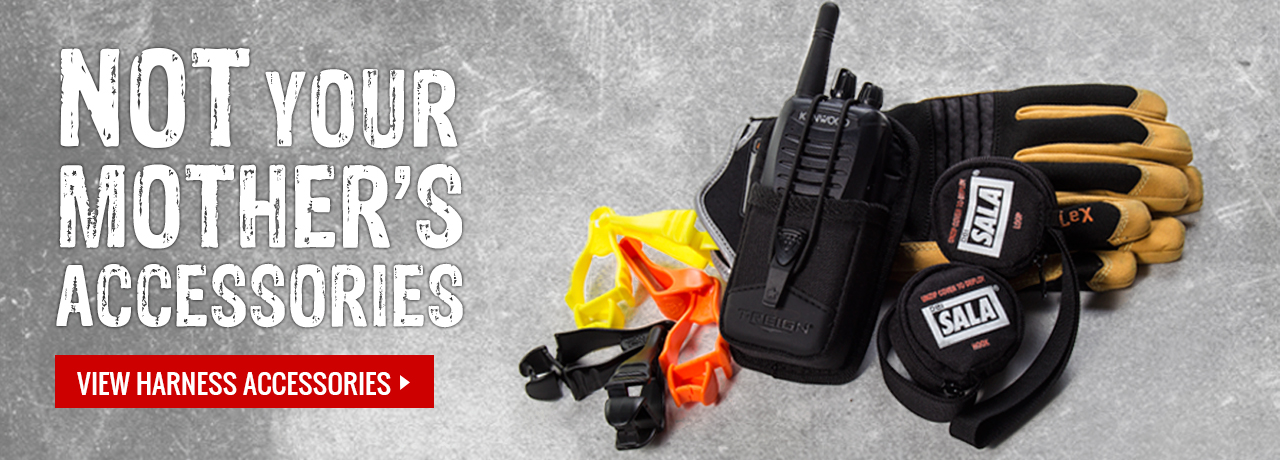 harness accessories like trauma suspension straps, gloves, two-way radios, and more at GME Supply