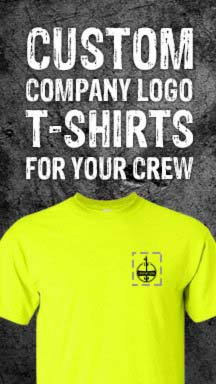 Custom Logo Company T-Shirts at GME Supply