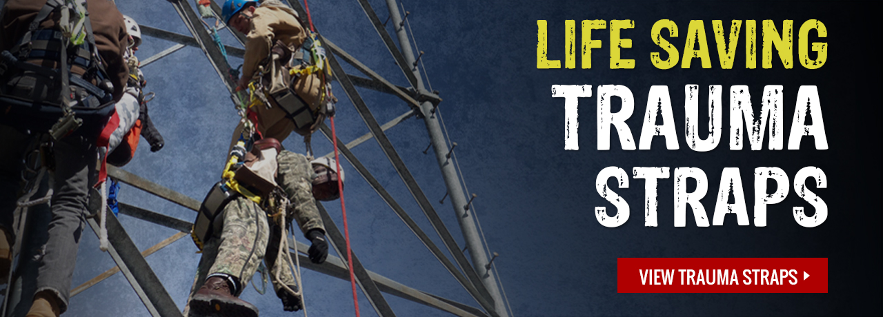 Suspension trauma safety straps for your harness from various manufacturers at GME Supply