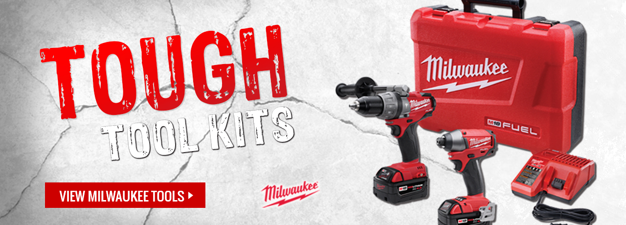 Power tool combination kits from Milwaukee tool at GME Supply
