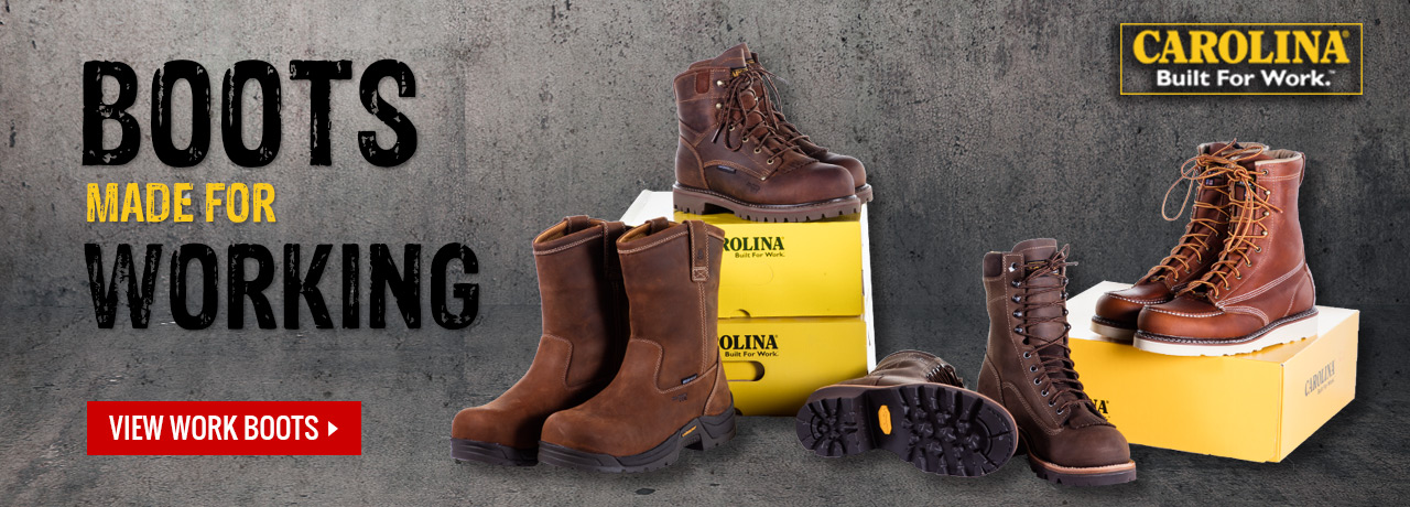 Tower climbing boots made for working at GME Supply