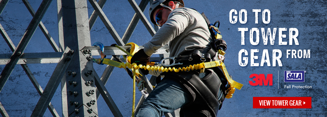3M & DBI Sala tower climbing gear at GME Supply