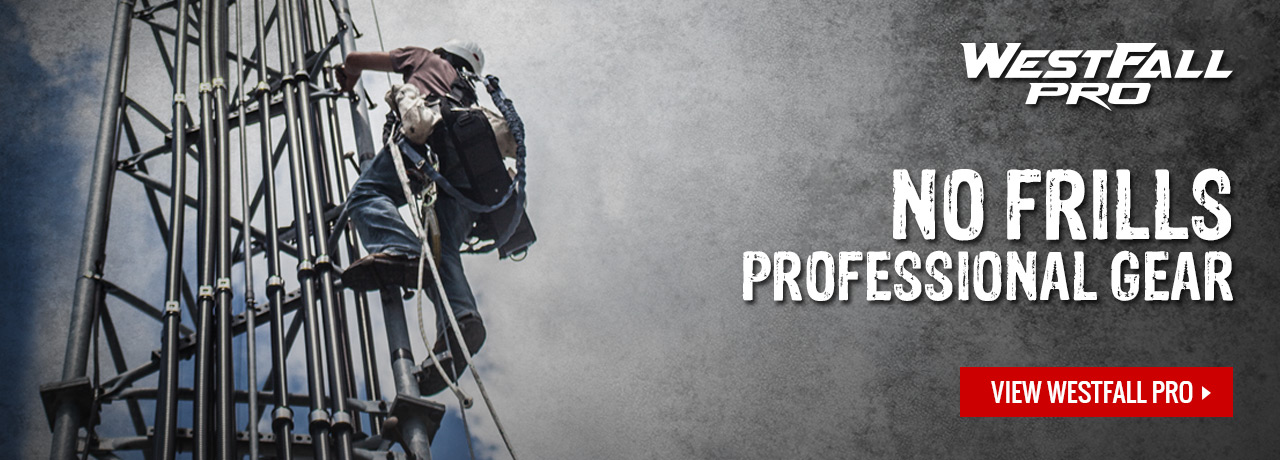 WestFall Pro professional tower climbing gear at GME Supply