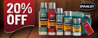 20% Off Stanley Thermos