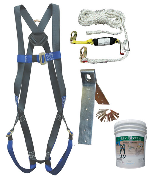 05000, 50' ConstructionPlus Roofer's Kit with Single-Use Anchor