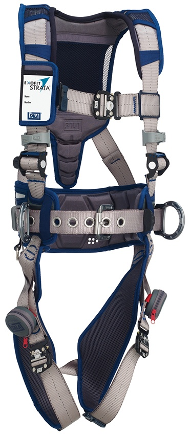 DBI Sala ExoFit Strata Construction Harness Quick Connect Straps from GME Supply