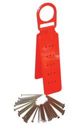 13050 Elk River Reusable Roof Anchor / Includes Nails