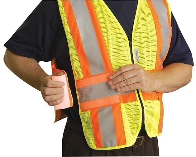 LUX-SC2TZ OccuNomix High Visibiliity Yellow Safety Vest