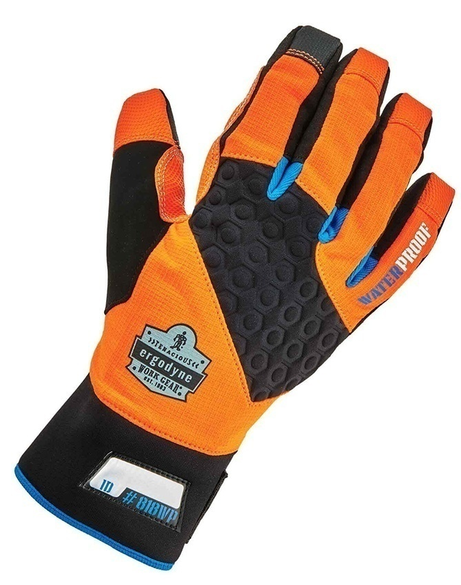 Ergodyne 818WP ProFlex Performance Hi-Vis Thermal Waterproof Utility Gloves from GME Supply