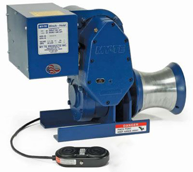300AB My-Te Utility Capstan Electric Winch-Hoist, 115 Volt AC from GME Supply