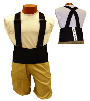 40009, Back-EZE Belt with Suspenders (6XL)