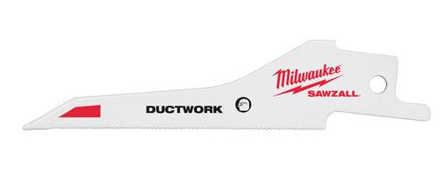 Milwaukee Ductwork Sawzall Blade 5 Pack
