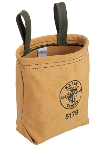 5179 Klein Water Repellant Canvas Tool Pouch - w/ Belt Loops